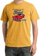 Ford Mustang Pigment Dyed T-Shirt - Chairman Of The Ford Mustard Tee