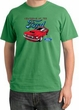 Ford Mustang Pigment Dyed T-Shirt - Chairman Of The Ford Piper Green