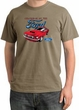 Ford Mustang Pigment Dyed T-Shirt - Chairman Of The Ford Sandstone Tee