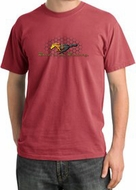 Ford Mustang Pigment Dyed T-Shirts Make It My Mustang Grill Tee Shirts