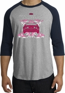 Ford Mustang Raglan Shirts - Girls Run Wild Adult T-Shirts