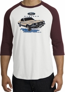 Ford Mustang Raglan Shirts - Horsepower Adult T-Shirts