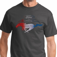 Ford Mustang Red White and Blue Shirts