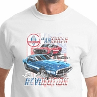 Ford Mustang Shirt American Revolution Tee T-shirt