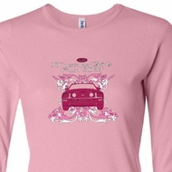 Ford Mustang Shirt Girls Run Wild Ladies Long Sleeve Tee T-Shirt