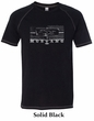 Ford Mustang Shirt Legend Honeycomb Grille Tri Blend Tee T-Shirt