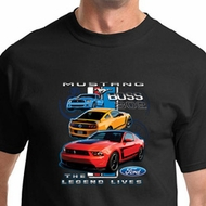 Ford Mustang Shirt The Legend Lives