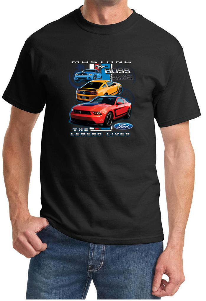 ford mustang shirt the legend lives tee t shirt ford mustang shirt the legend lives. Black Bedroom Furniture Sets. Home Design Ideas