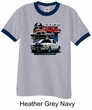 Ford Mustang Shirt Various Shelby Mens Ringer Tee T-Shirt
