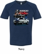 Ford Mustang Shirt Various Shelby Mens Tri Blend Tee T-Shirt