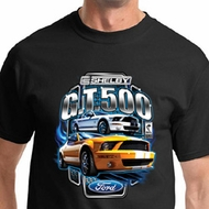Ford Mustang Shirt Yellow and White GT 500