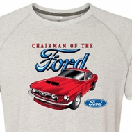 Ford Mustang Shirts Chairman of the Ford Tri Blend Tee T-Shirt