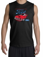 Ford Mustang Shooter Shirt - Chairman Of The Ford Black Muscle Shirt