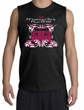 Ford Mustang Shooter Shirt - Girls Run Wild Adult Black Muscle Shirt
