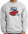 Ford Mustang Sweatshirt - Chairman Of The Ford Adult Ash Sweat Shirt