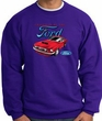 Ford Mustang Sweatshirt - Chairman Of The Ford Purple Sweat Shirt