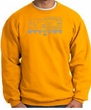 Ford Mustang Sweatshirt Legend Honeycomb Grille Gold Sweat Shirt