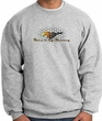 Ford Mustang Sweatshirt -Make It My Grill Athletic Heather Sweat Shirt