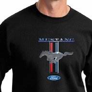 Ford Mustang Sweatshirt Stripe Mens Sweat Shirt