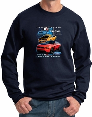 Ford Mustang Sweatshirt The Legend Lives Sweatshirt