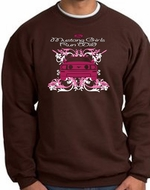Ford Mustang Sweatshirts - Girls Run Wild Adult Sweat Shirts