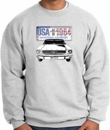 Ford Mustang Sweatshirts - USA 1964 Country Adult Sweat Shirts
