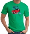 Ford Mustang T-Shirt - Chairman Of The Ford Adult Kelly Green Tee