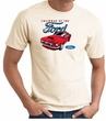 Ford Mustang T-Shirt - Chairman Of The Ford Adult Natural Tee