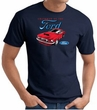 Ford Mustang T-Shirt - Chairman Of The Ford Adult Navy Tee