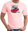 Ford Mustang T-Shirt - Chairman Of The Ford Adult Pink Tee
