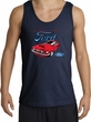 Ford Mustang Tank Top - Chairman Of The Ford Adult Navy Tanktop