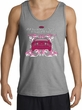 Ford Mustang Tank Top - Girls Run Wild Adult Sports Grey Tanktop