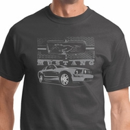 Ford Mustang with Grill Shirt