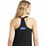 Ford Oval Neck Print Ladies Shirts