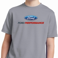 Ford Performance Parts Kids Moisture Wicking Shirt