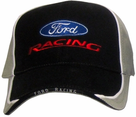 Ford Racing Two Tone Hat - Custom Adjustable Classic Cap