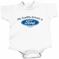 Ford Romper My Daddy Drives a Ford Infant Baby Creeper