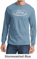 Ford Shirt Distressed An American Classic Adult Long Sleeve Shirt