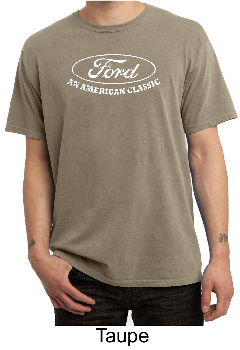 Ford shirt distressed an american classic adult pigment for All american classic shirt