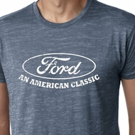 Ford Shirt Distressed An American Classic Mens Burnout Tee T-Shirt