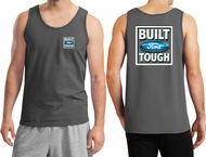Ford Tank Top Built Ford Tough (Front & Back) Tanktop