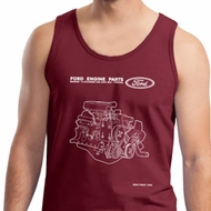 Ford Tank Top Engine Parts Tanktop