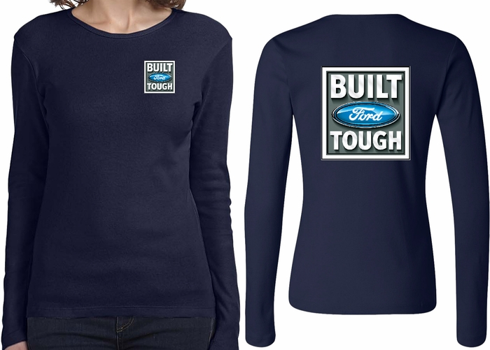 d41ee8d0f4e South 40 Western Wear Source · Ford Tee Built Ford Tough Front   Back  Ladies Long Sleeve Built