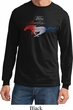 Ford Tee Mustang Red White and Blue Long Sleeve