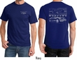 Ford Tee Mustang with Grill (Front & Back) T-Shirt