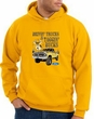 Ford Truck Hoodie Driving and Tagging Bucks Gold Hoody