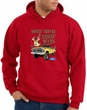 Ford Truck Hoodie Driving and Tagging Bucks Red Hoody