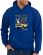 Ford Truck Hoodie Driving and Tagging Bucks Royal Hoody