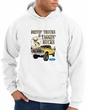 Ford Truck Hoodie Driving and Tagging Bucks White Hoody