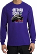 Ford Truck Long Sleeve Shirt - F-150 4X4 Offroad Machine Purple Tee